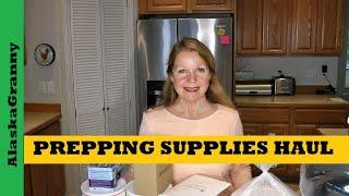 Prepping Supplies Haul - Water Pump Dispenser Rechargeable Lightbulbs