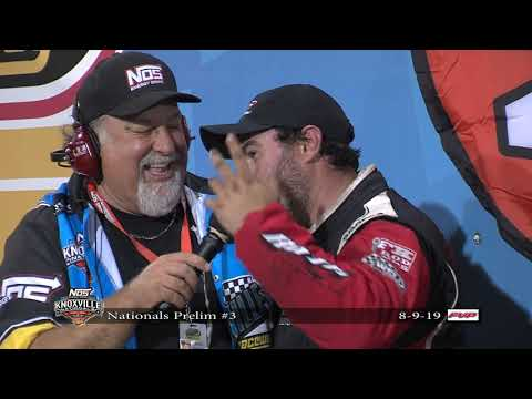Knoxville Nationals Night #3 Victory Lane - August 8, 2019