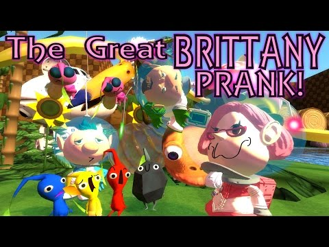 The Great Brittany Prank! (A Pikmin 3 Improv Skit)