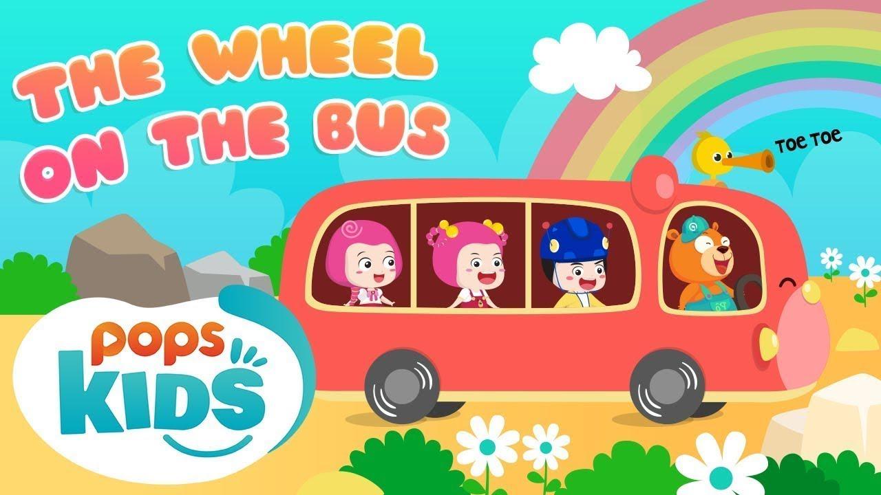 The Wheels On The Bus Ca Nhạc Thiếu Nhi Vui Nhộn | Mầm Chồi Lá Tiếng Anh Tập 2