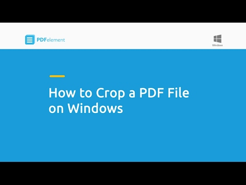 How To Crop A PDF File On Windows