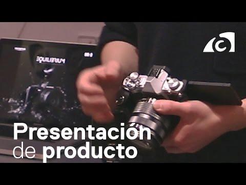 Presentación Olympus OM-D E-M5 Mark II con Jesús Becerril y Marc Riera