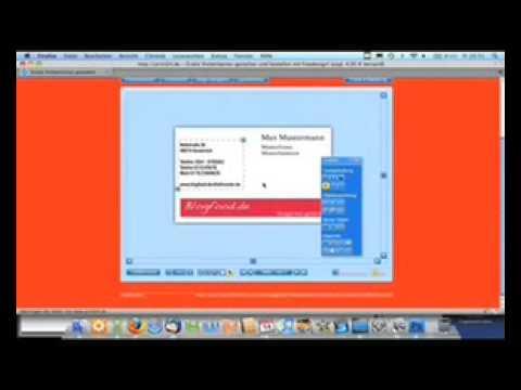 Visitenkarten Von Print24 Im Blogfood De Test Youtube