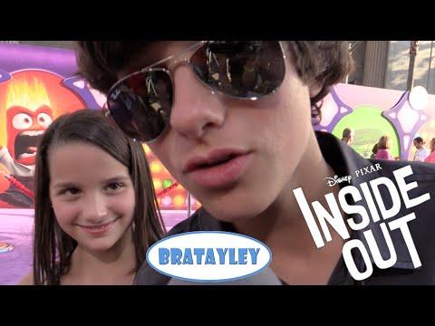 Disney Pixar's Inside Out Premiere + Plus Purple Carpet Interviews & Bratayley on the Purple Carpet
