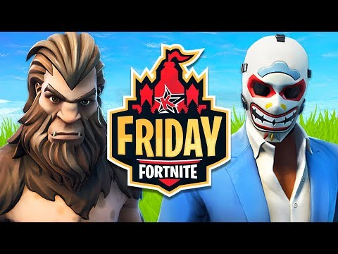 We Got To The FINALS Of The Fortnite Friday $20,000 Tournament!! (Fortnite Battle Royale)