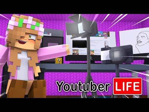 LITTLE KELLY IS THE WORST YOUTUBER EVER! Minecraft Youtuber Life