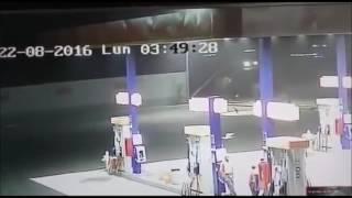 Agosto-22-2016.Extraterrestre en gasolinera de Peru,captado por camara de seguridad