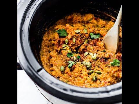 BBQ Crock Pot Lentil Chili {Vegan Friendly}