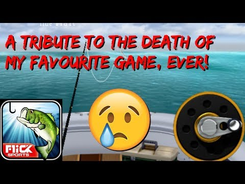 The Tribute To The Best Mobile Game: Flick Fishing Whose Servers Where Taken Down The Other Day RIP