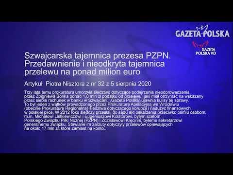 Artykuł z nr 32  Gazety Polskiej. Szwajcarska tajemnica prezesa PZPN.