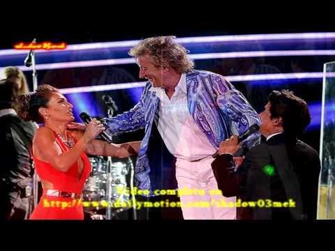 Carola deMoras y Rod Stewart 2014 http://www.dailymotion.com/shadow03mek