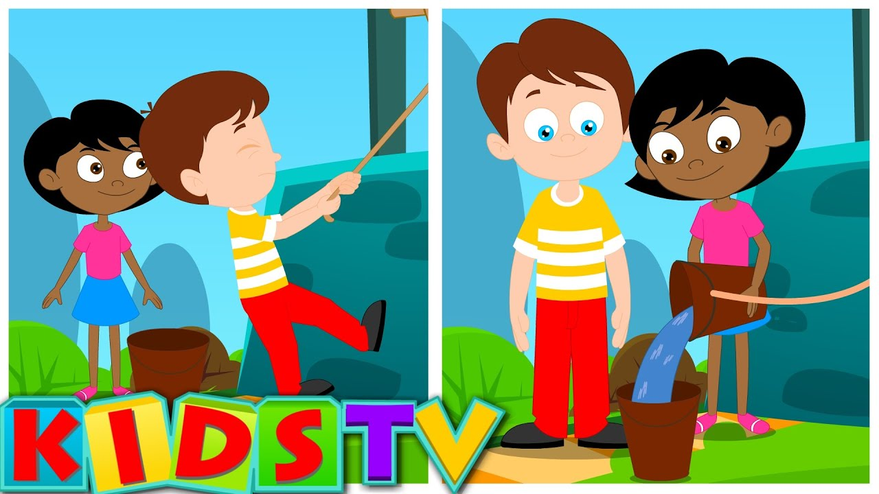 Jack and Jill | Nursery Rhyme For Kids and Children's Songs | Kids TV