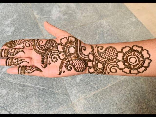 arabic easy mehandi designs