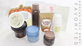 Korean Face Mask 101 + Favorites