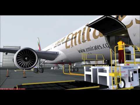 FLIGHT EMIRATES EK073  DXB -CDG
