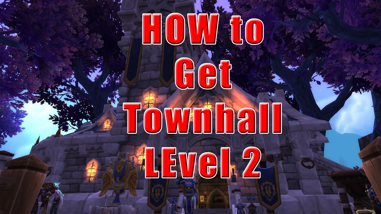 How to get garrison town hall level 2 alliance youtube how to get garrison town hall level 2 alliance malvernweather Choice Image