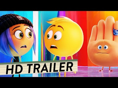 EMOJI - DER FILM Trailer Deutsch German (HD) | Animation 2017