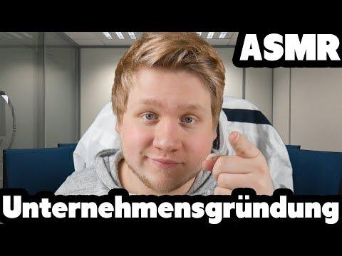 ASMR | Wir gründen ein UNTERNEHMEN zusammen! Roleplay | Deutsch/German | DeutscheASMR