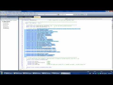 updated PIC 18F4550 USB Demo Board video