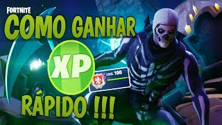 COMMENT À EARN XP ET PASS THE FAST LEVEL!!! (FORTNITE BATTLE ROYALE)