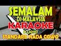 Gambar cover SEMALAM DI MALAYSIA D'LIOYD KARAOKE VOKAL PRIA