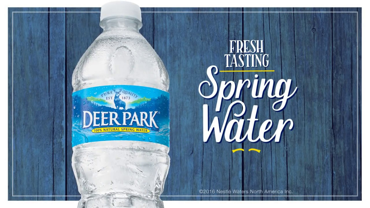 Deer Park Water: 100% Natural Spring Waterl