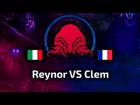 Reynor VS Clem - FINAL BOSS - ZvT - Xel Naga Finest #5 - polski komentarz