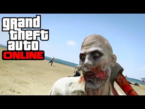GTA ONLINE - Apocalipsis Zombie Con Un...