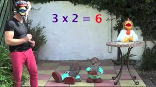 2 x table - Times Tables -  The Fun Way To Learn ! - Multiplication Songs
