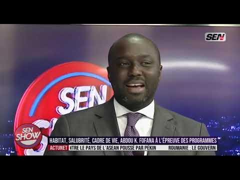 Abdou Karim Fofana invité Senshow Lundi 4 Novembre 2019