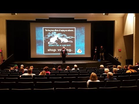 Know Vaping at Pickens Schools Superintendent Chat September 2018