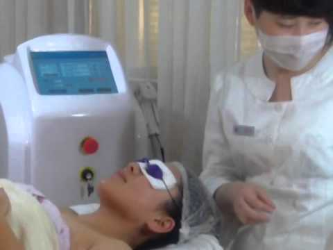 Diode Laser with painless treatment hair removal/ Demo Operation of Diode laser hair removal machine