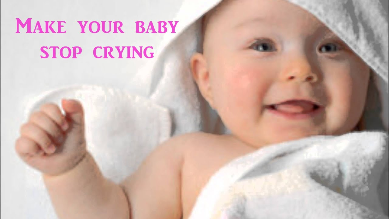 How to make a baby stop crying video