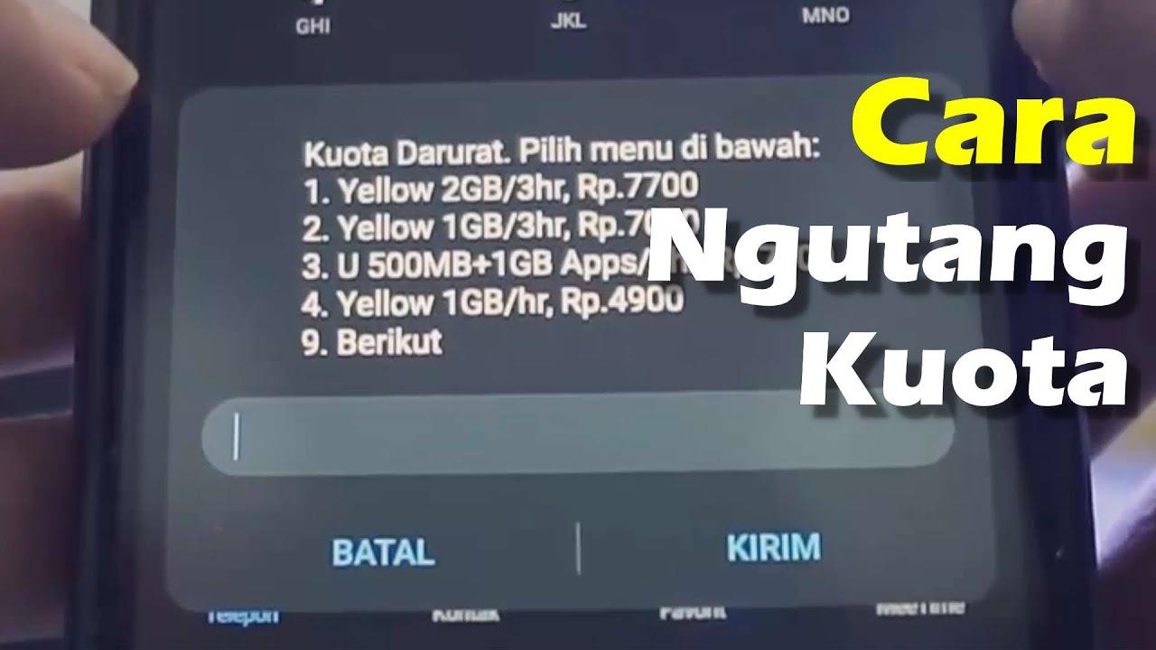 Cara Pinjam Pulsa Darurat Im3 Indosat Ooredoo Terbaru Www Arie Pro