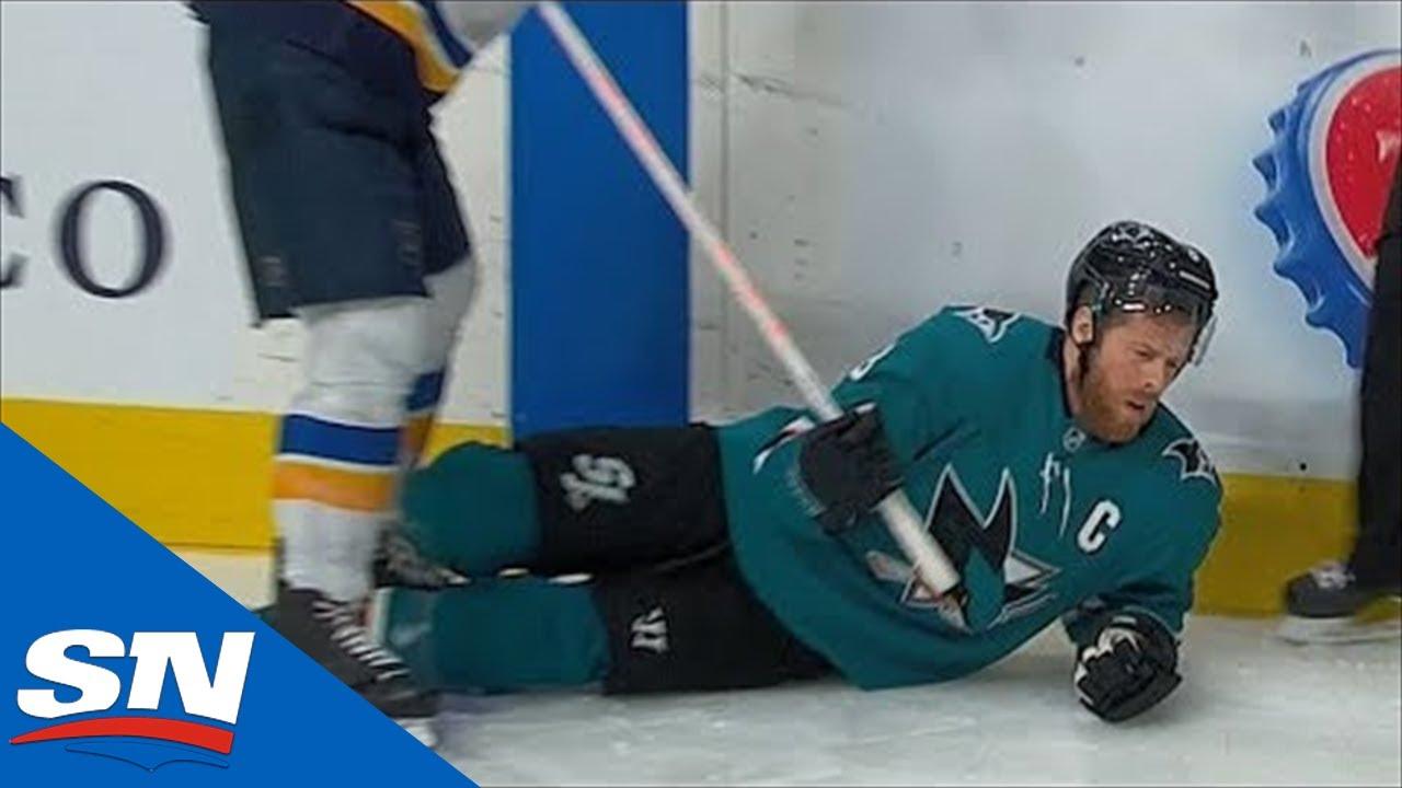 Joe Pavelski Leaves Game After Bone Crushing Hit From Alex Pietrangelo