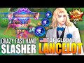 - INSANE FAST HAND SLASHER LANCELOT COMBO SKILL - TOP GLOBAL LANCELOT ɢꜱ Hoon - MOBILE LEGENDS