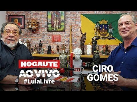 #LULALIVRE: FERNANDO MORAIS ENTREVISTA CIRO GOMES