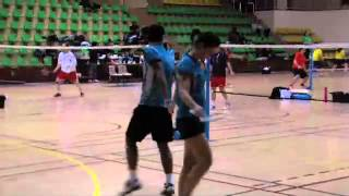 Badminton : en couple dans la vie comme sur un terrain