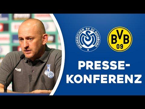 Virtuelle PK nach DFB-Pokal gegen Borussia Dortmund | #MSVBVB | ZebraTV | 14.09.2020