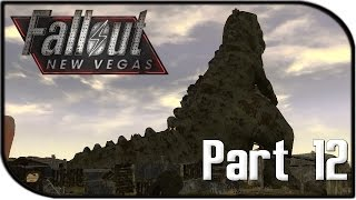"""Fallout: New Vegas Gameplay Part 12 - """"DINKY THE DINOSAUR!"""" (Fallout 4 Hype Let's Play!)"""