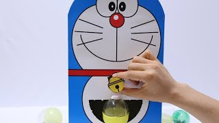 DIY Doraemon Gashapon Homemade Capsule Toy Machine