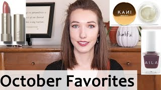 October 2018 Favorites