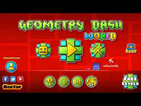Geometry Dash World - Todos Los Niveles Completos Al 100% (All Levels) || TheJesucristian
