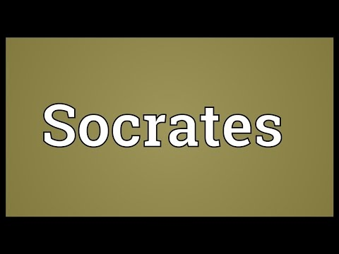 Socrates Meaning