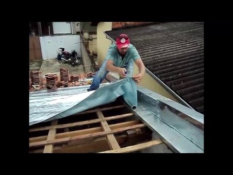 569c3a1f02 Como instalar manta térmica em telhados sem remover o ripamento ...