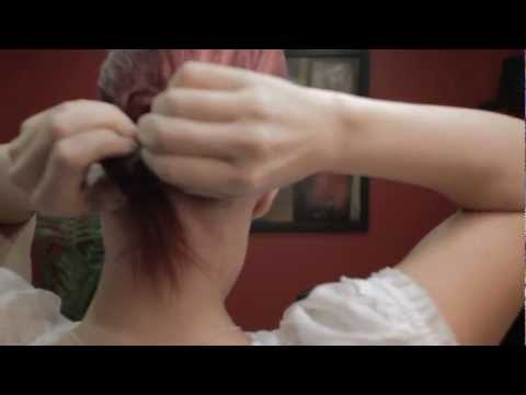 How To Do Your Own Updo - Quick and Easy Bun