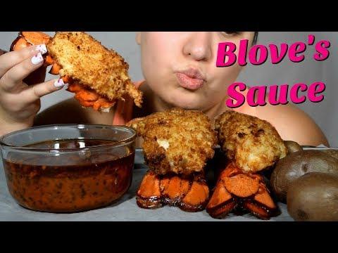ASMR Lobster Tails & Bloves Sauce @ 12 Midnight