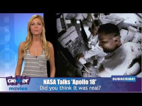 NASA Talks 'Apollo 18'
