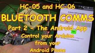 #37 Controlling your Arduino from your phone - Part 2 (the App)