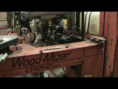 Wood Mizer Belt Tension Tutorial